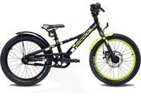 """S´cool scool faXe 18 alloy black/lemon matt 18"""" 2019 Kids Bikes"""