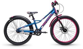 """S´cool scool faXe 24 7-S blue/pink matt 24"""" 2019 Kids Bikes"""