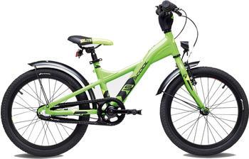"S´cool scool XXlite street 18 3-S alloy lemon/black matt 18"" 2019 Kids Bikes"