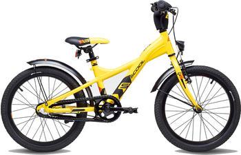 "S´cool scool XXlite street 18 3-S alloy yellow/black matt 18"" 2019 Kids Bikes"