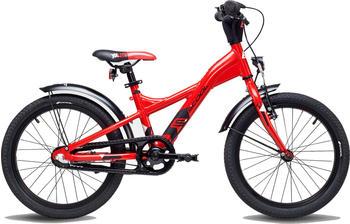 """S´cool scool XXlite street 18 3-S alloy red/black matt 18"""" 2019 Kids Bikes"""