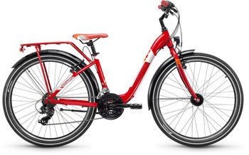"""S´cool scool chiX 26 21-S steel Red 26"""" 2019 Jugend- Bikes"""