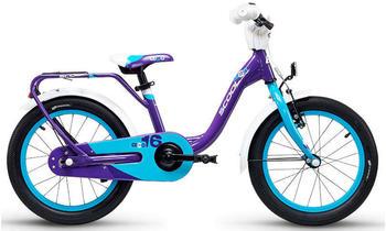 "S´cool scool niXe 16 alloy violet/blue 16"" 2019 Kids Bikes"