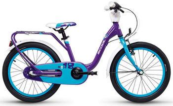 "S´cool scool niXe 18 3-S alloy violet/blue 18"" 2019 Kids Bikes"