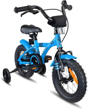 PROMETHEUS BICYCLES Kinderfahrrad 12 Zoll 1 Gang Blau Schwarz ab 3 Jahre | blau