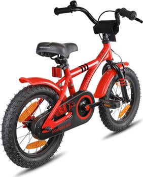 PROMETHEUS BICYCLES Hawk 14 Zoll schwarz/rot