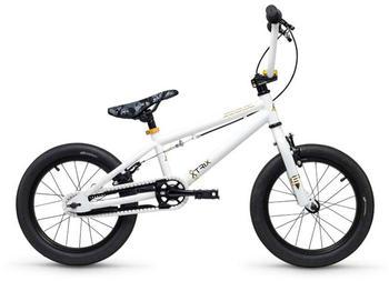 "S´cool scool XtriX mini 16 white/gold 16"" 2019 Kids Bikes"