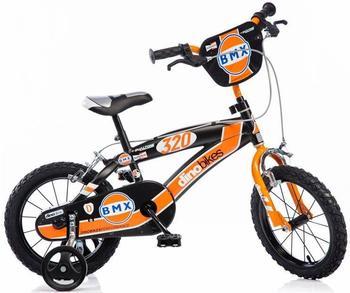 dino-bikes-kinderfahrrad-16-zoll-rot-schwarz