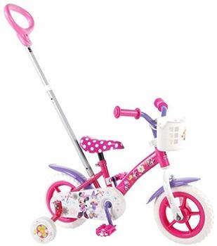 Volare 10 Zoll Kinderfahrrad Volare Disney Minnie Mouse Bow-Tique