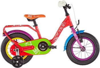 "S´cool scool niXe chalk 12 steel red 12"" 2019 Kids Bikes"