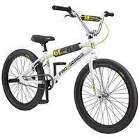"GT Bicycles Pro Series Heritage 24"" white/black/yellow 24"" 2020 BMX"