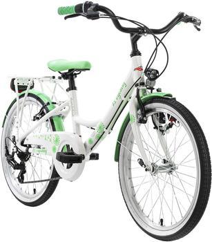 KS Cycling Dandelion 20'' 7 gears white/green