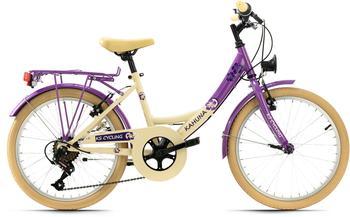 KS-CYCLING Kahuna 20 Zoll RH 34 cm beige/lila