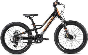 S'Cool faXe 20 race Aluminium 7-Gang black/orange matt