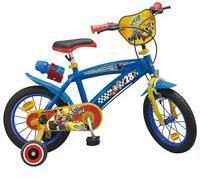 Toimsa Bikes Kinderfahrrad Mickey Mouse und die flinken Flitzer, 16 Zoll blau