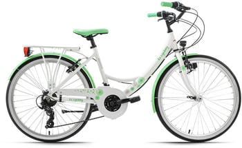 KS Cycling Dandelion 24'' 7 gears white/green