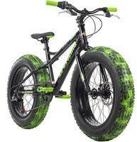 KS-CYCLING KS Cycling Fatbike »Crusher 6217«, 6 Gang Shimano Tourney Schaltwerk, Kettenschaltung,
