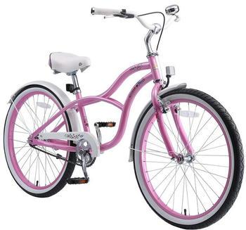 Bikestar 24 Zoll Cruiser Pink