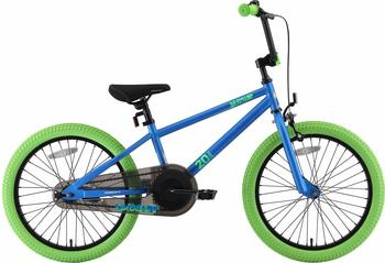 "Star-Trademarks Bikestar 20"" BMX blue green"