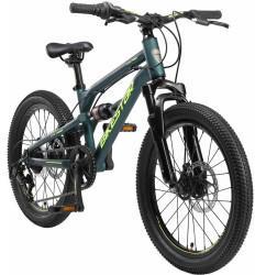 Bikestar Kinderrad Fully MTB Alu 20 Zoll Petrol