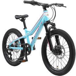 Bikestar Jugendfahrrad Mountainbike 20 Zoll Weiß   Türkis