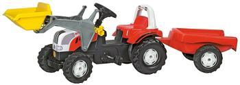 Rolly Toys rollyKid Steyr mit Lader und Anhänger (023936)