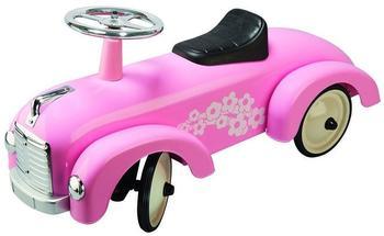 Goki Rutscherfahrzeug Metall rosa