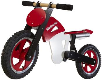 Kiddi moto Scrambler Red White