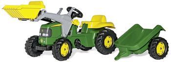 Rolly Toys rollyKid John Deere mit Lader und Anhänger (023110)