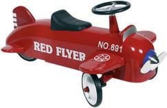 Goki Rutscher Flugzeug Red Flyer