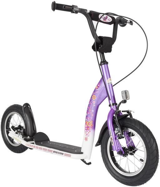 Bikestar 305mm lila/weiß