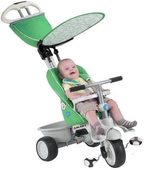 smarTrike Swing DLX 4 in 1 Baby Trike grün