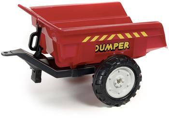 Falk Traktoranhänger Dumper rot