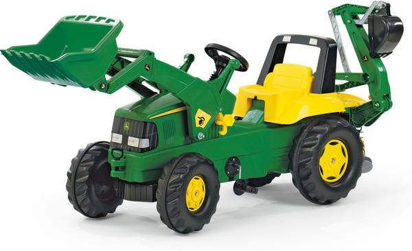 Rolly Toys rollyJunior John Deere mit Lader und rollyBackhoe (811076)