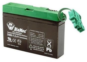 Peg Perego Batterie 6V 8Ah Stecker grün (KB0016)