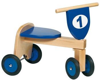 Goki Rutscher Trike Holz blau