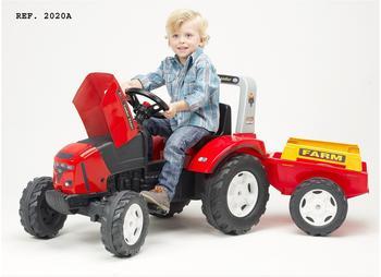 Falk Traktor Falk Lander Z240 + Anhänger (2020A)