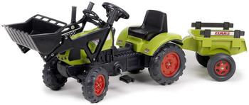 Falk Traktor Claas Arion 410 + Schaufel + Anhänger (2040CM)