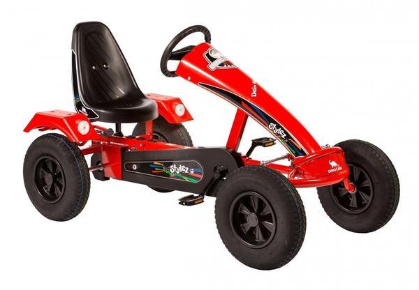 Dino Stylez AF mit Leichtlaufreifen rot/rot (S111)