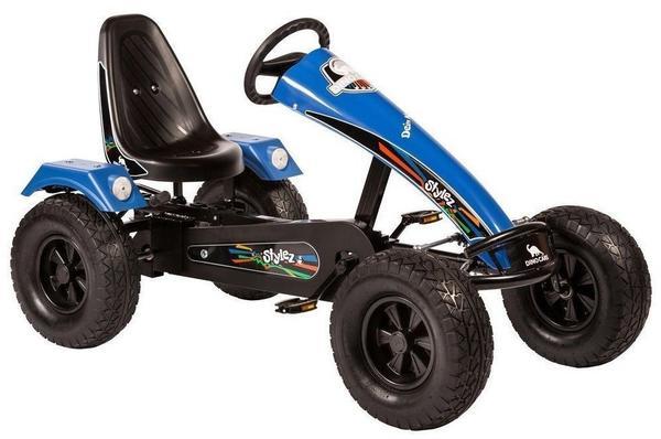 Dino Stylez AF mit Breitreifen schwarz/blau (S224)