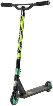 Star-Scooter Original Performance Freestyle Premium 100 mm schwarz matt/grün