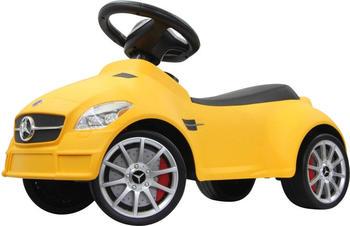 Jamara Rutscher Mercedes SLK55AMG gelb