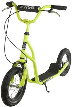 Stiga Air Scooter lime grün