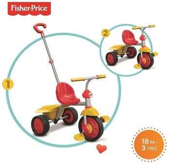Fisher-Price Dreirad Glee rot gelb