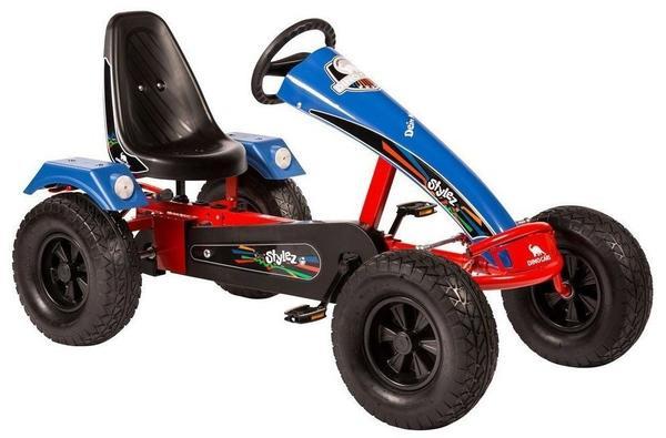 Dino Stylez AF mit Breitreifen rot/blau (S124)