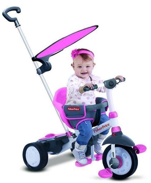 Fisher-Price Dreirad Charm Plus pink
