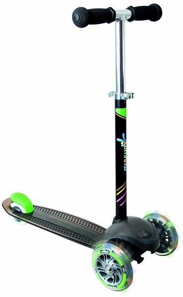 Authentic Sports Muuwmi Kids Scooter UP neon grün/schwarz