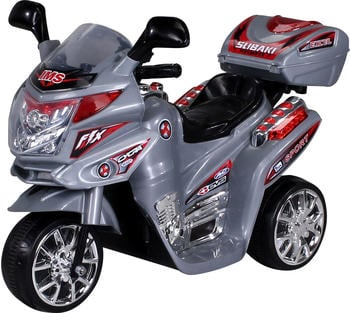 Actionbikes Kinder Elektroauto Motorrad C051 silber (PR0002760-03)