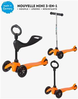Micro Mobility Mini Micro 3-in-1 Neon-Orange