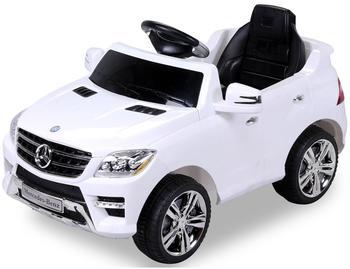Actionbikes Kinder Elektroauto Mercedes ML 350 weiß (PR0018055-01)